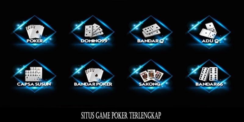 Situs Game Poker Terlengkap